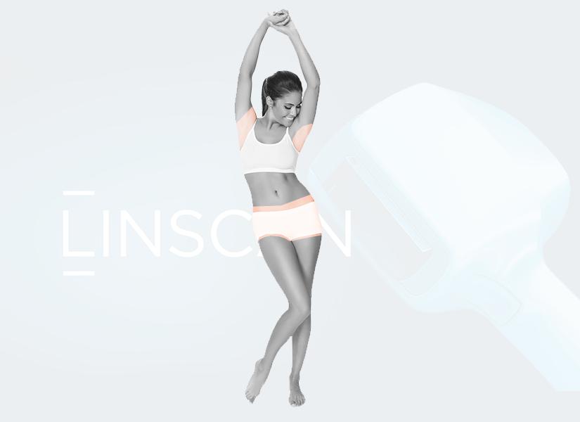 Pakiet depilacji laserowej Linscan kobieta SOFT