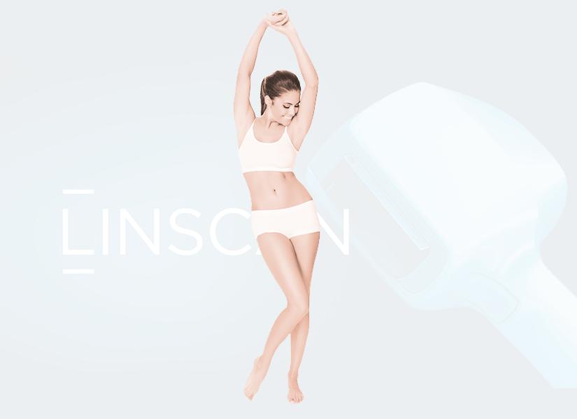 Pakiet depilacji laserowej kobieta Linscan PREMIUM