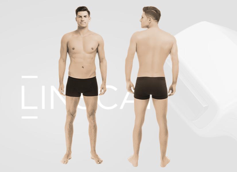 Pakiet depilacji laserowej mężczyzna Linscan PREMIUM